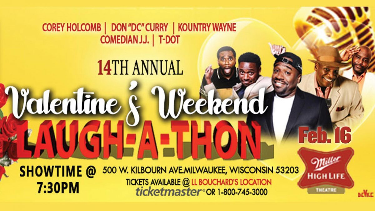14th Annual Valentine's Weekend Laugh-A-Thon starring Corey Holcomb and Friends