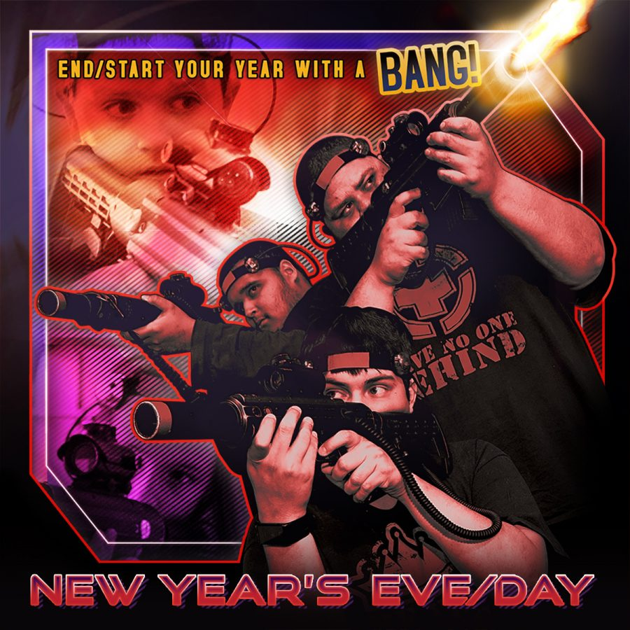 New Year's Eve Laser Tag