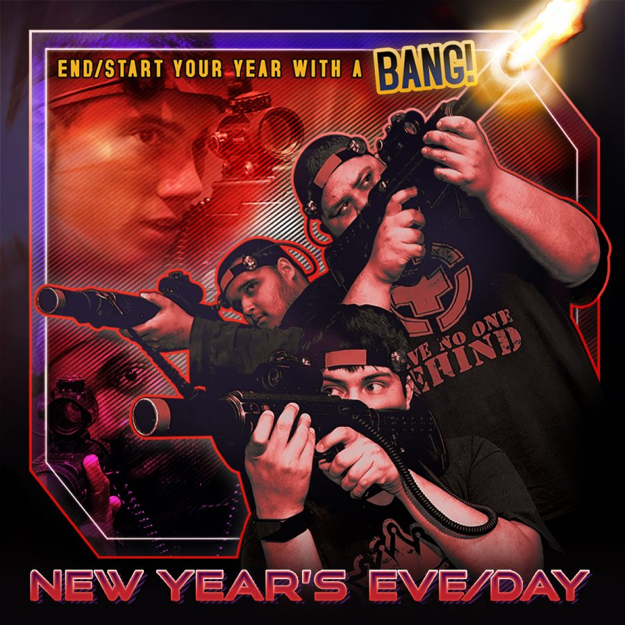 $5 Off New Year's Day Laser Tag