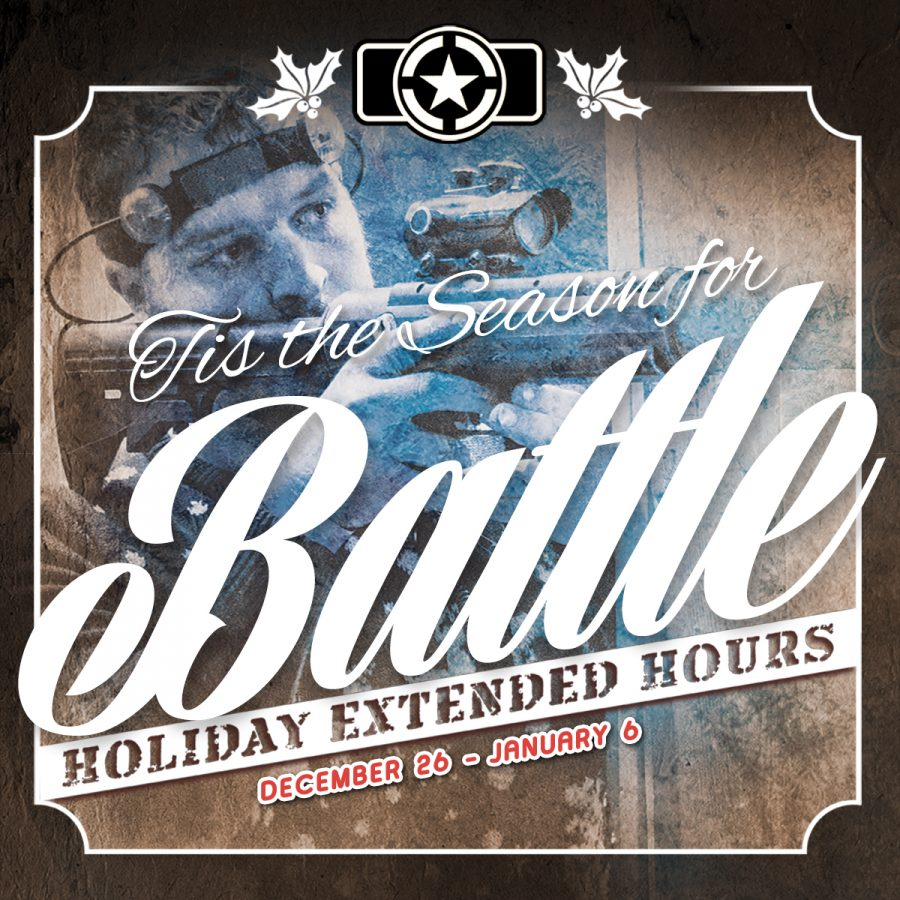 Holiday Season Laser Tag Extended Hours