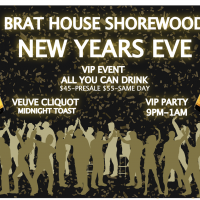 Shorewood Brat House - New Years - All U Can Drink