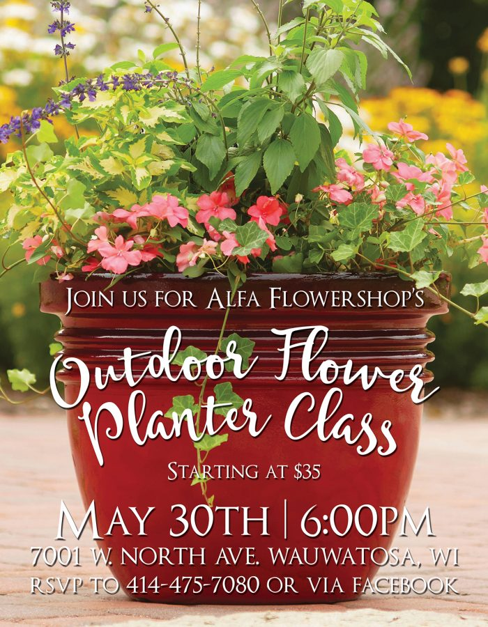 Outdoor Flower Planter Class