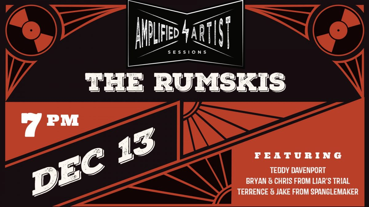 Amplified Artist Sessions present: The Rumskis