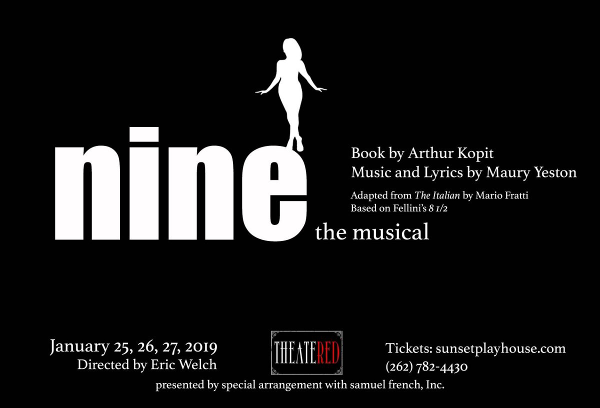 NINE the Musical with Theater RED - Be Italian!