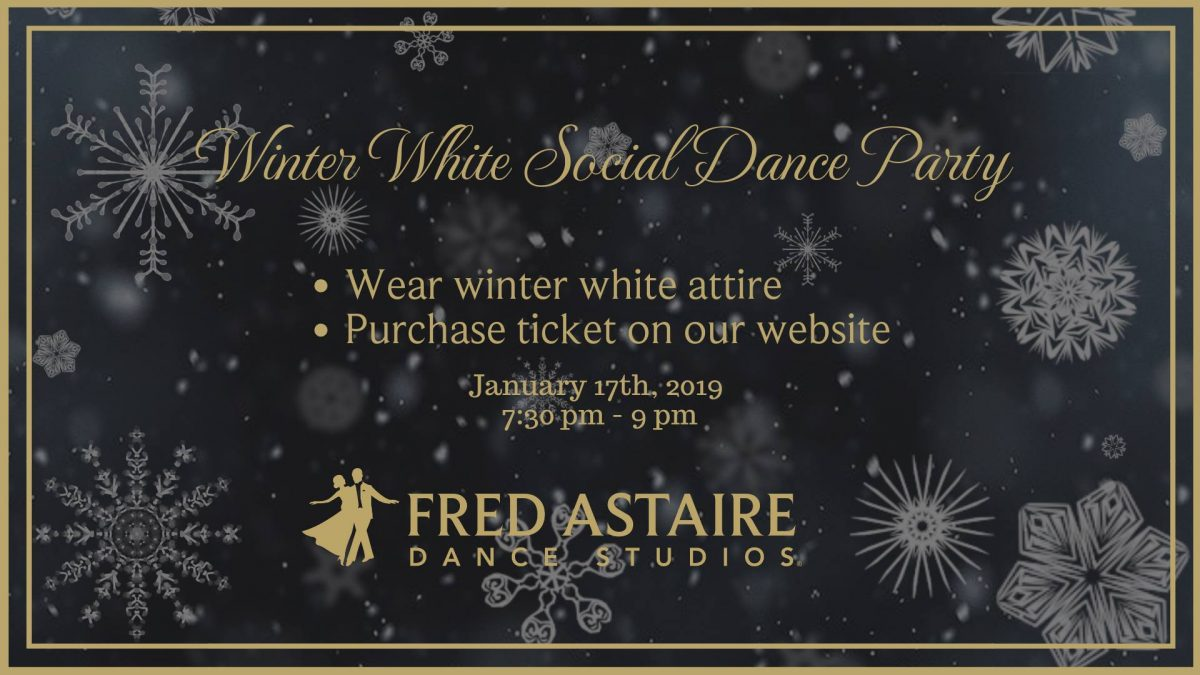 Winter White Social Dance Party
