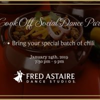 Chili Cook Off Social Dance Party
