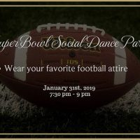 Super Bowl Social Dance Party