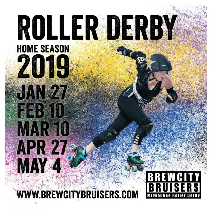 Brewcity Bruisers Roller Derby 2019 Bout #4