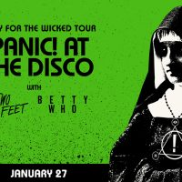 Panic! At The Disco - Pray for the Wicked Tour with Two Feet