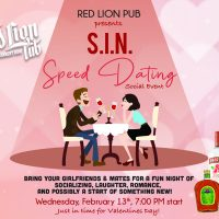 S.I.N. Speed Dating Social Event