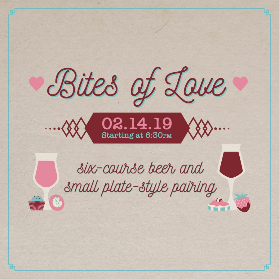 Bites of Love: A Valentine's Day Pairing