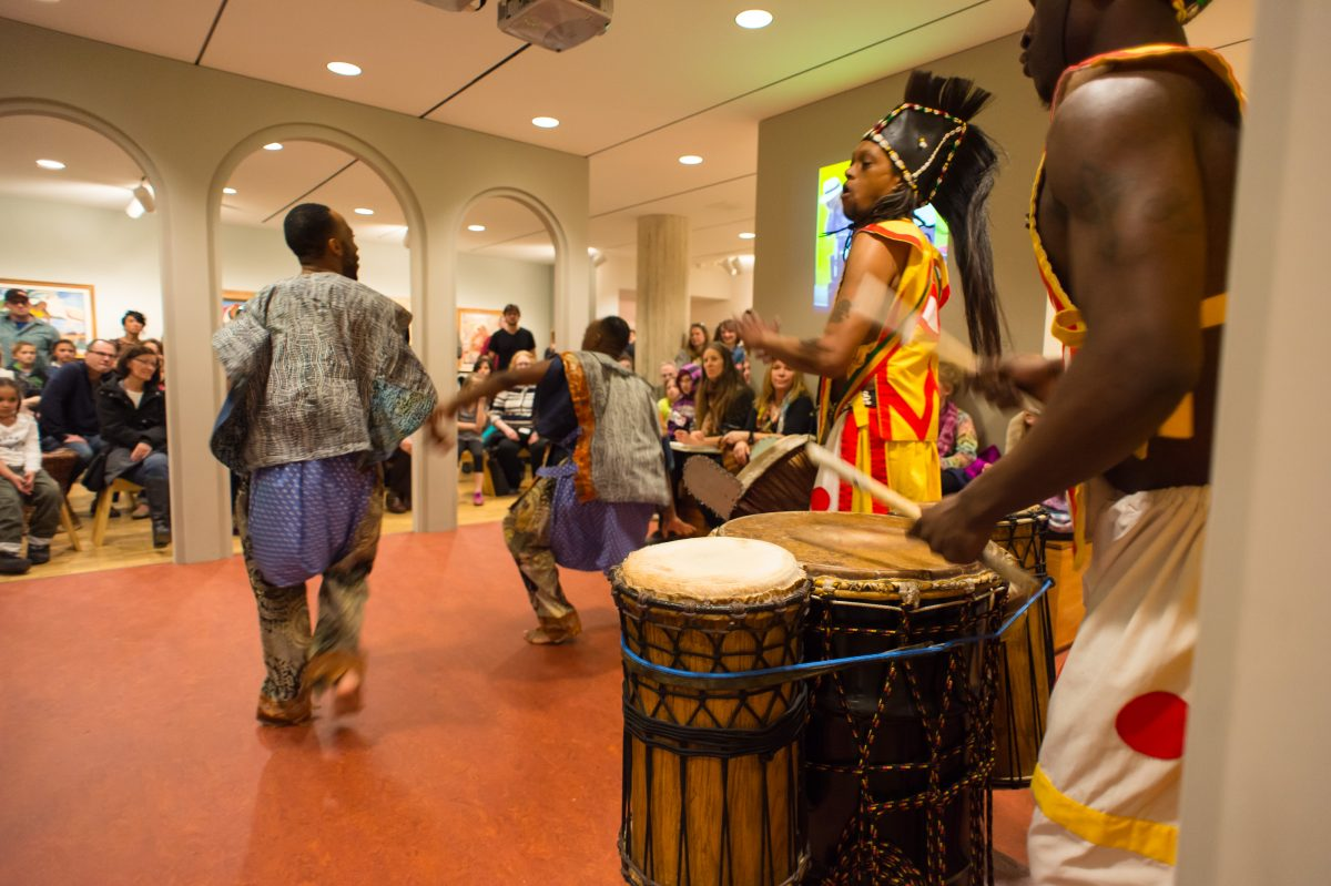Kohl's Art Generation Lab: Haitian Art Performance...