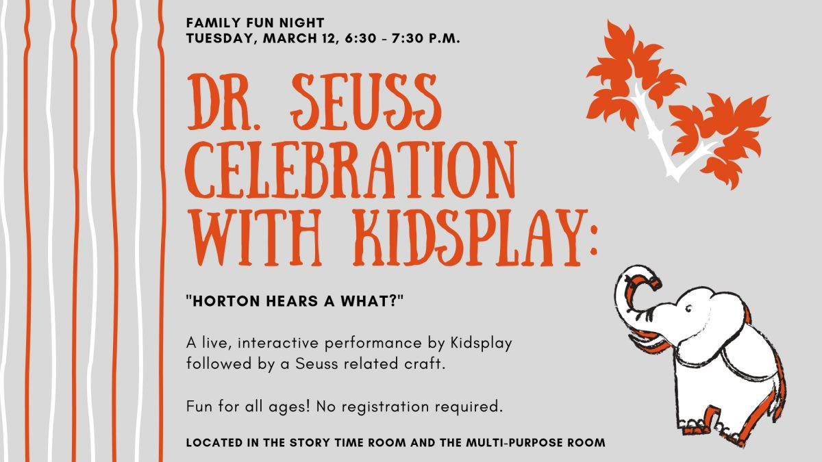 Family Fun Night: Dr. Seuss Celebration with Kidsp...