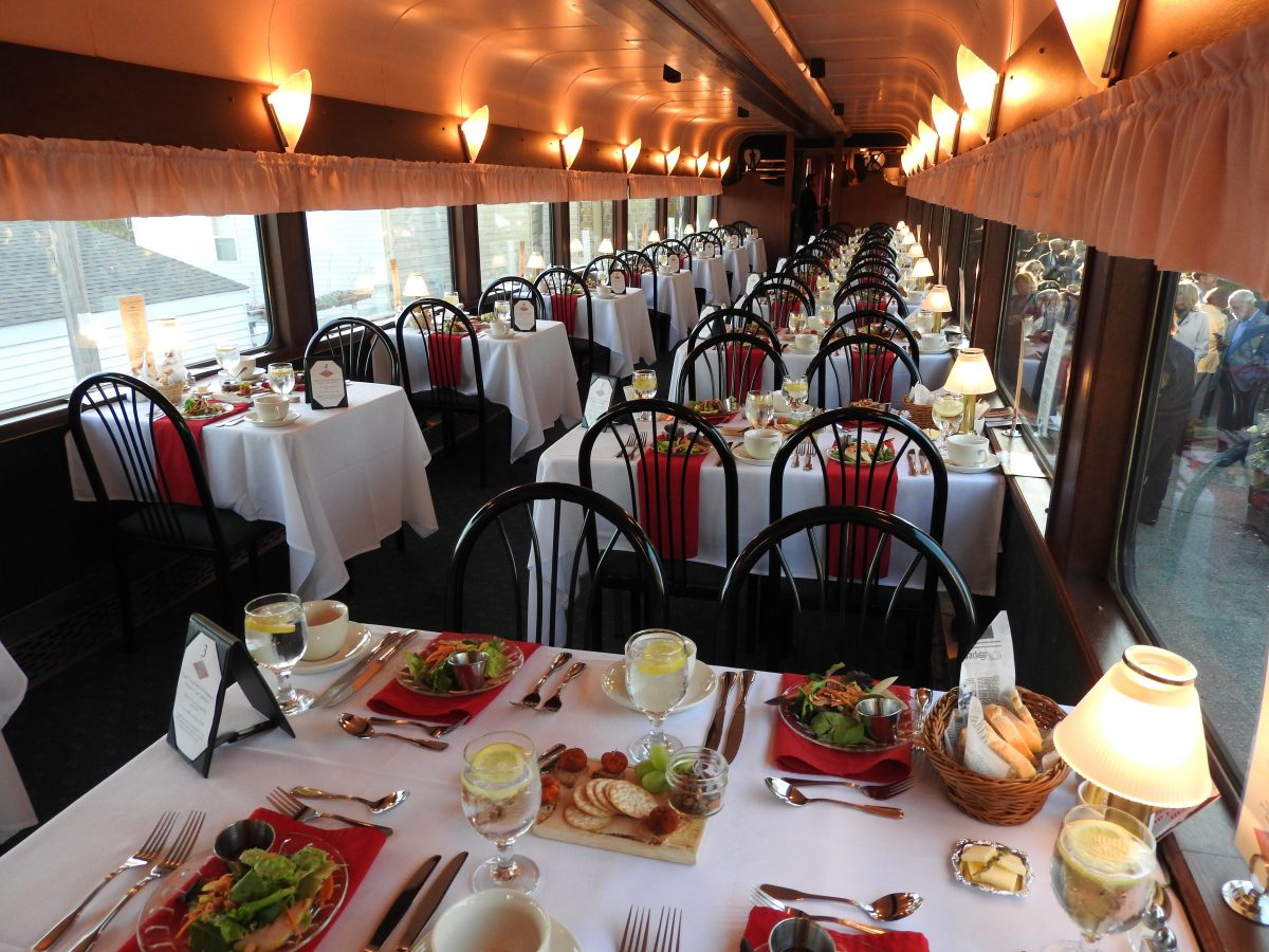 Sweetest Day Dinner on the East Troy Railroad