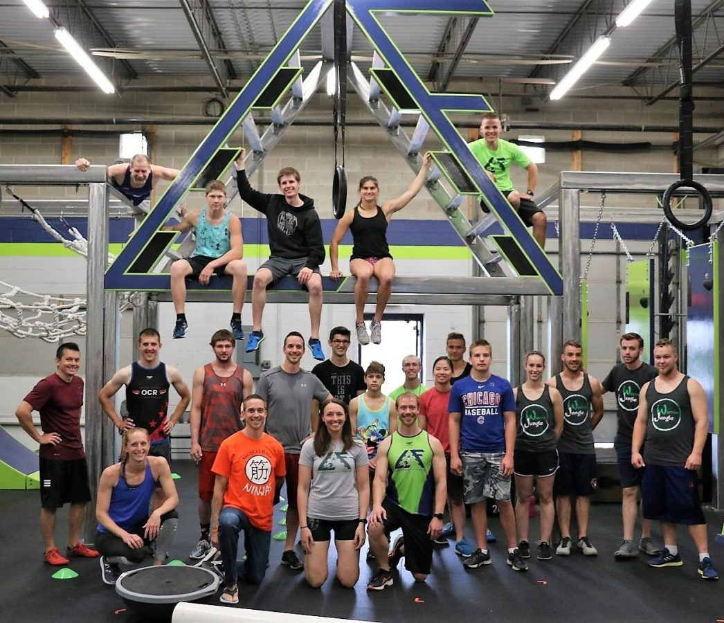 Ninja Warrior Competition
