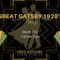Great Gatsby 1920's Party
