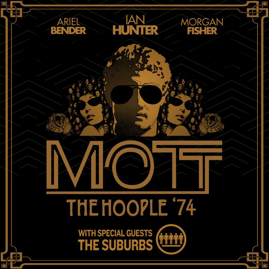 Mott The Hoople '74 with special guests The Suburbs