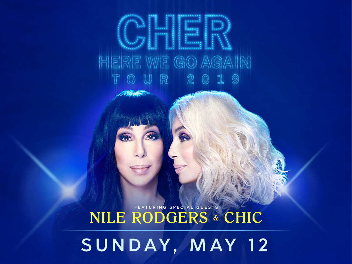 Cher - Here We Go Again Tour