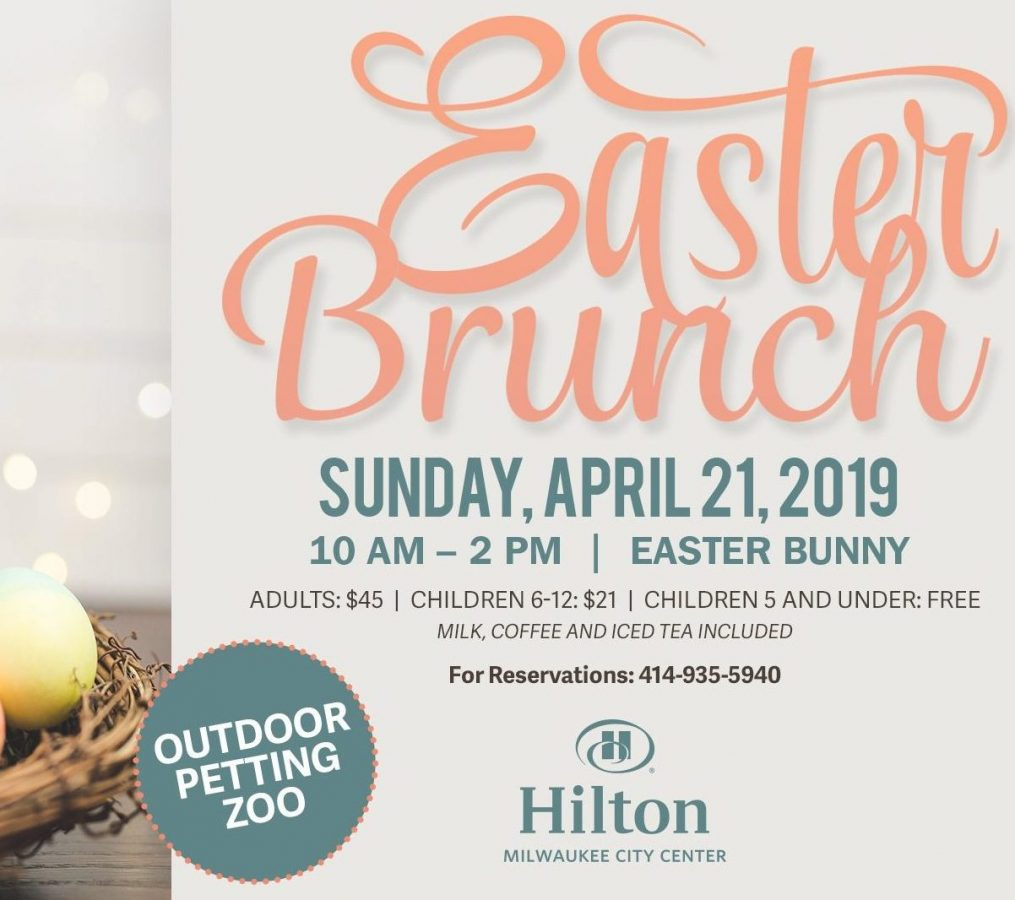Easter Brunch at Hilton Milwaukee City Center