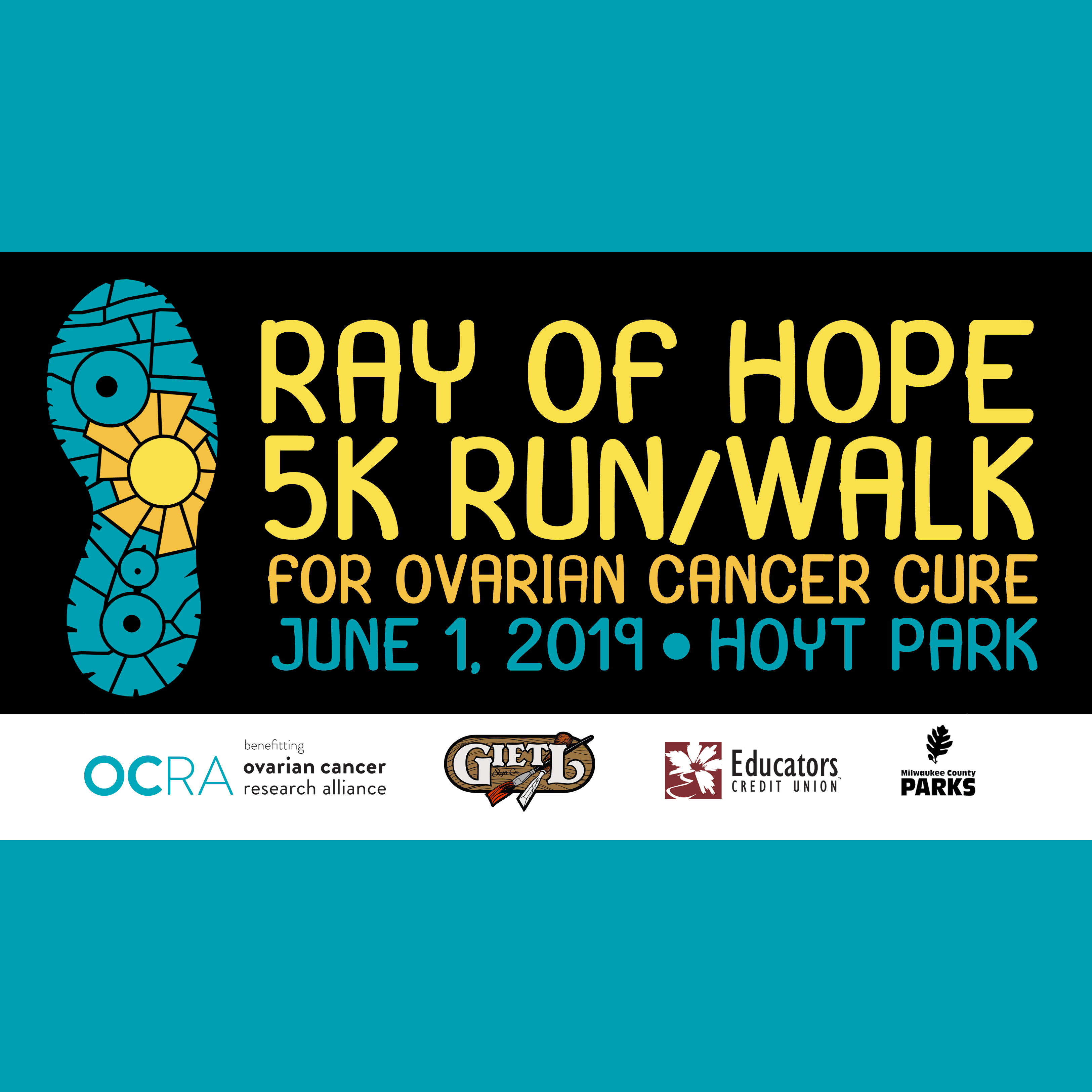 Ray of Hope 5K Run/Walk for Ovarian Cancer Cure