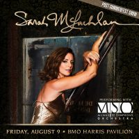 Sarah McLachlan with the Milwaukee Symphony Orchestra