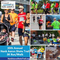 20th Annual Hank Aaron State Trail 5K Run/Walk