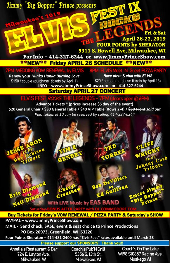 ELVIS FEST IX Rocks THE LEGENDS