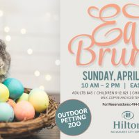 Easter at the Hilton Milwaukee City Center – Petting Zoo Returns to 6th and Green