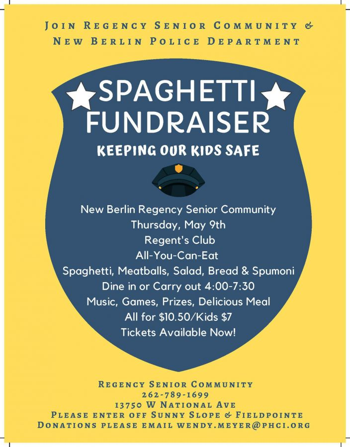Regency Senior Community Police Department Spaghet...