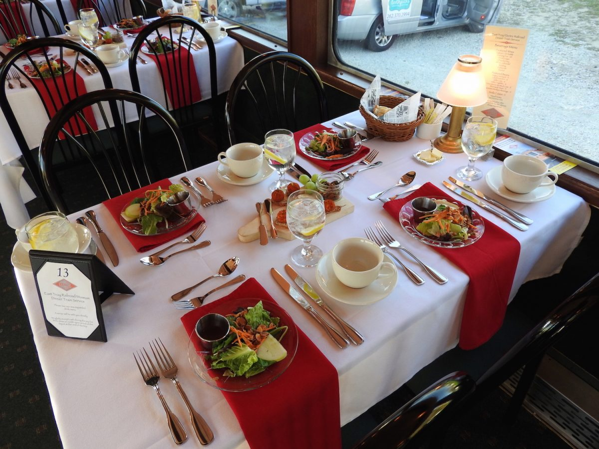 Father's Day Dinner on the East Troy Railroad