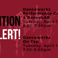 Danceworks Auditions