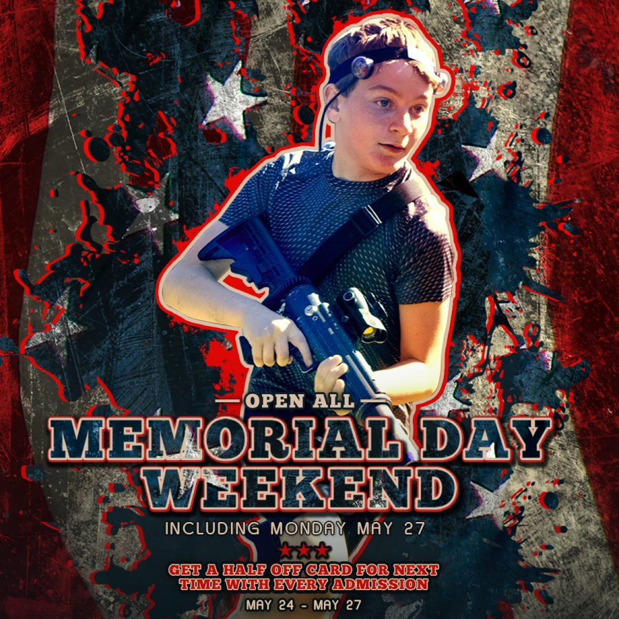 Memorial Day Weekend Laser Tag