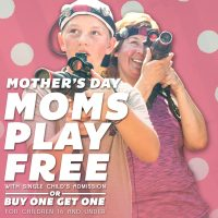 Moms Play Laser Tag Free