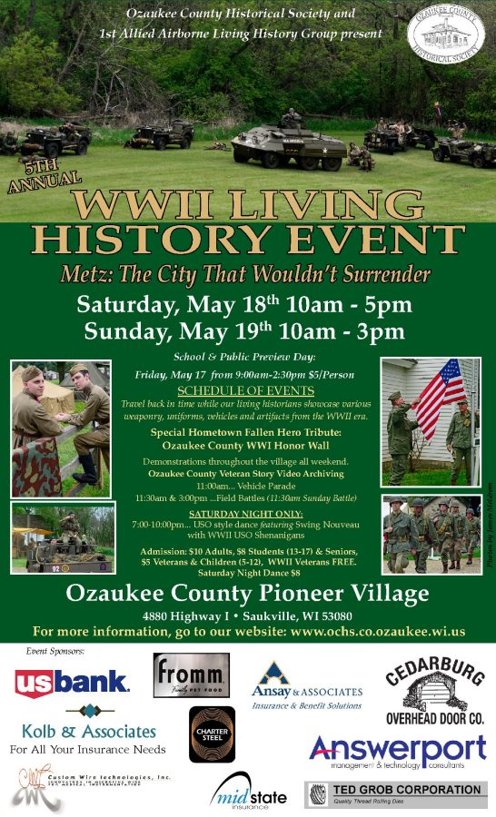 WWII Living History Event & Dance