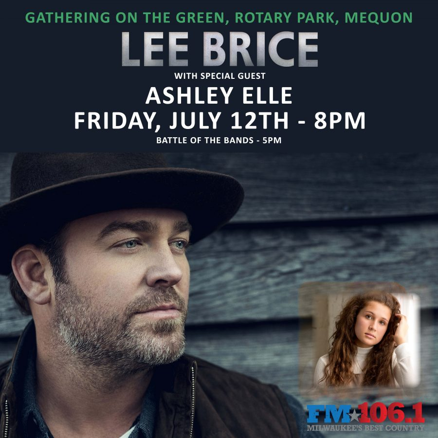 Gathering on the Green - Country Music's Lee Brice
