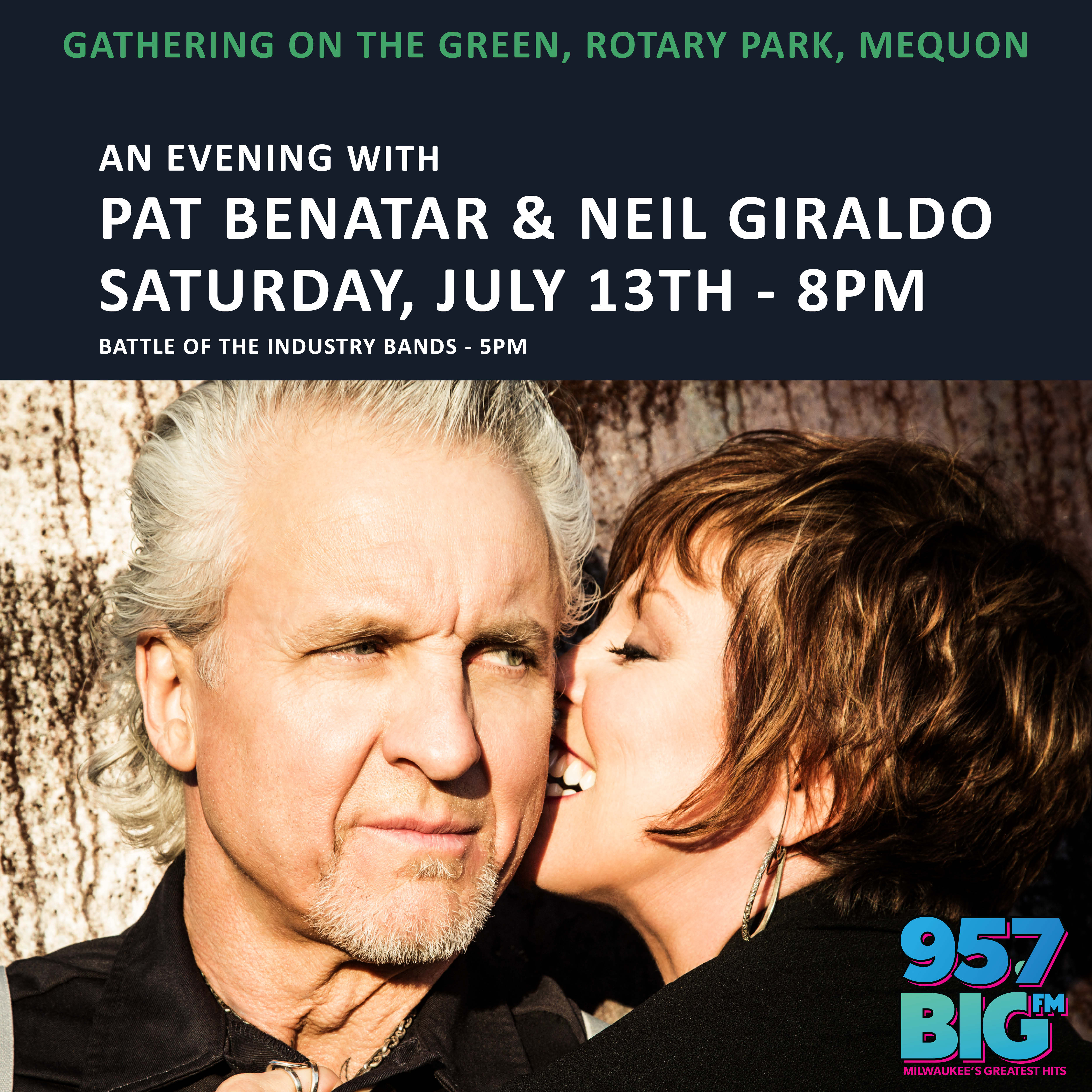Gathering on the Green – An Evening with Pat Benatar and Neil