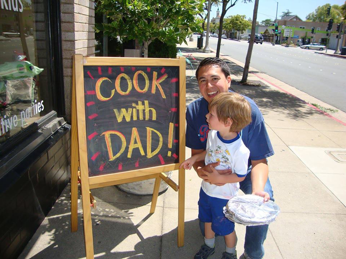 Cooking With Dad – Kids Father's Day Cooking C...