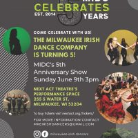 Milwaukee Irish Dance Company: Five Years in the Making