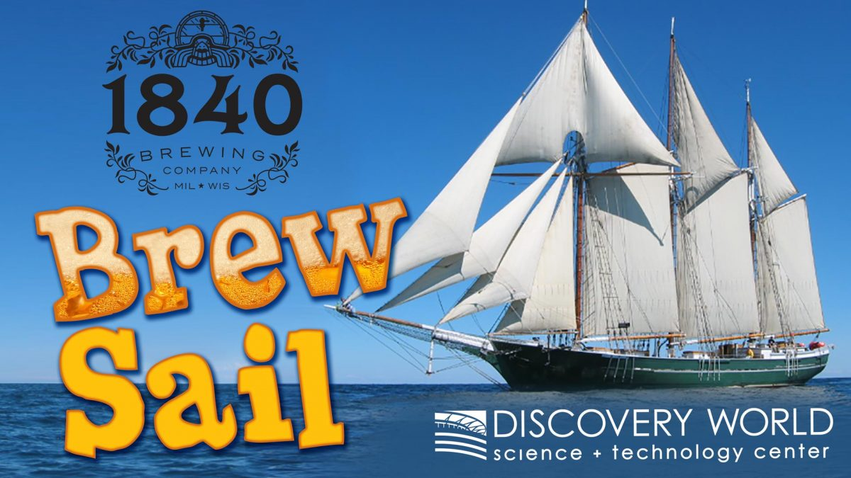 Denis Sullivan Brew Sail with 1840 Brewing Company