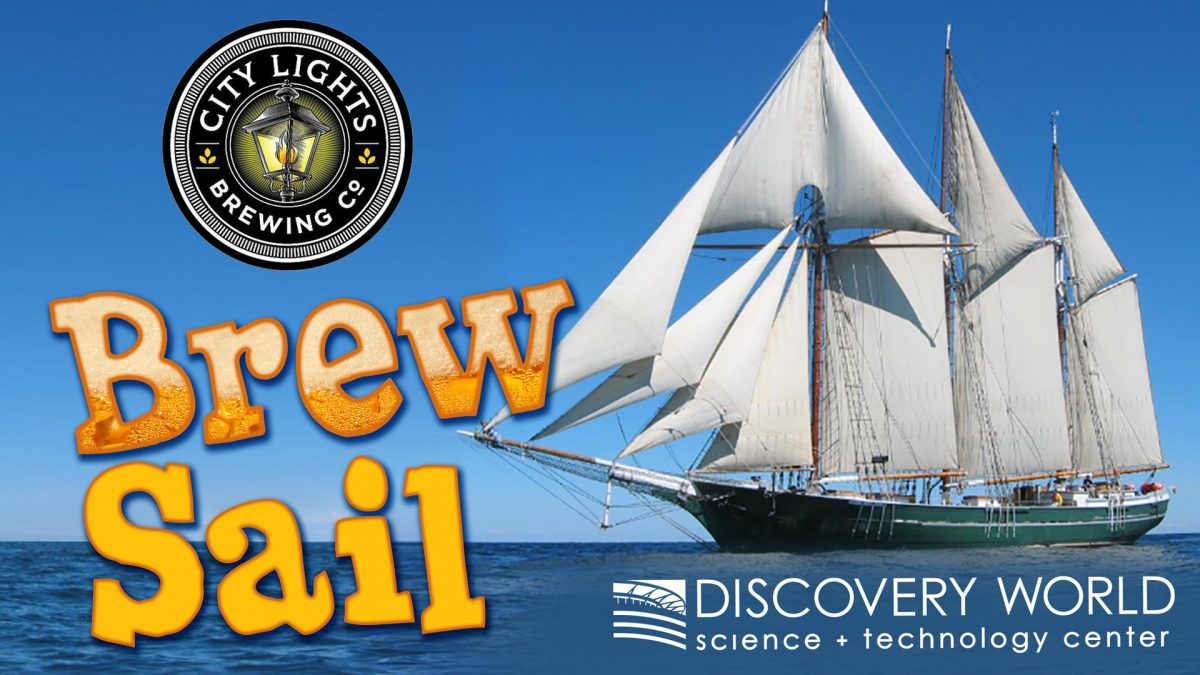 Denis Sullivan Brew Sail with City Lights Brewing Co.