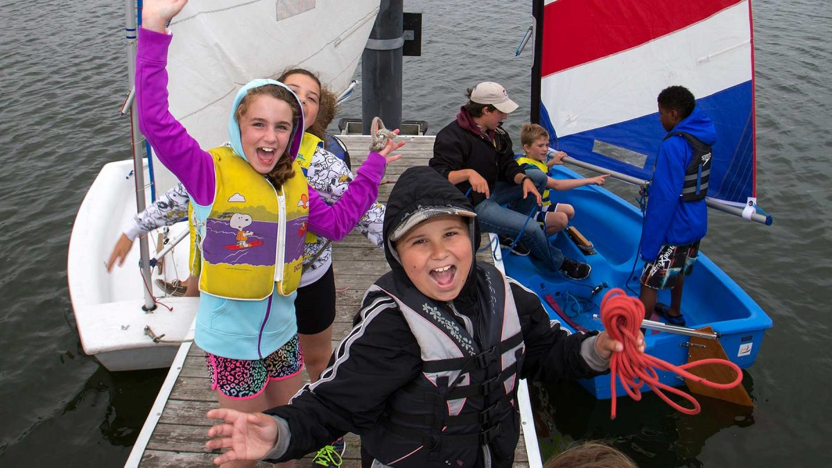 Learn to Sail summer camp