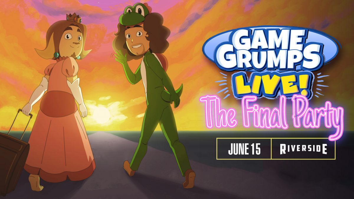 Game Grumps at the Riverside Theater