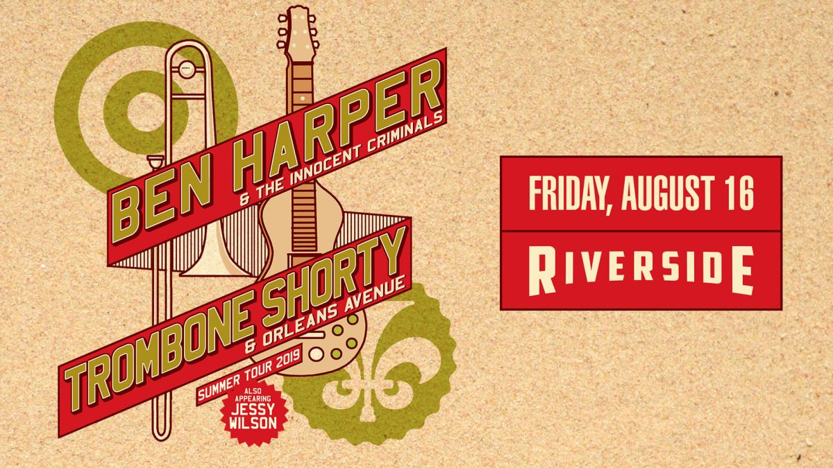 Ben Harper and Trombone Shorty at the Riverside Theater