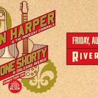 Ben Harper and Trombone Shorty at the Riverside Th...