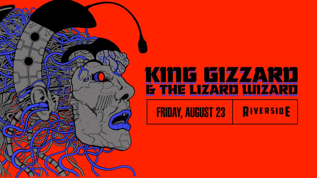 King Gizzard and the Lizard Wizard at the Riversid...