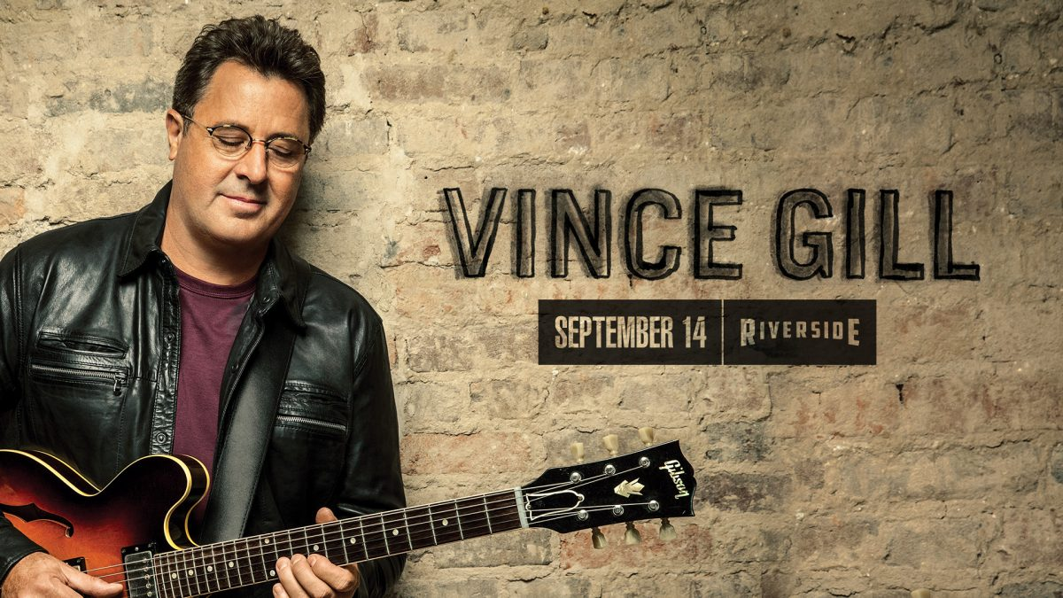 Vince Gill at the Riverside Theater