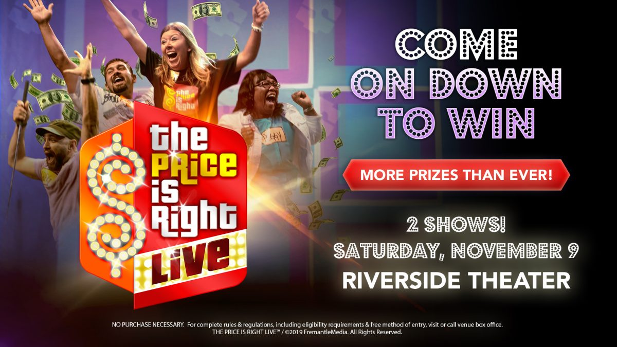 The Price Is Right Live at the Riverside Theater