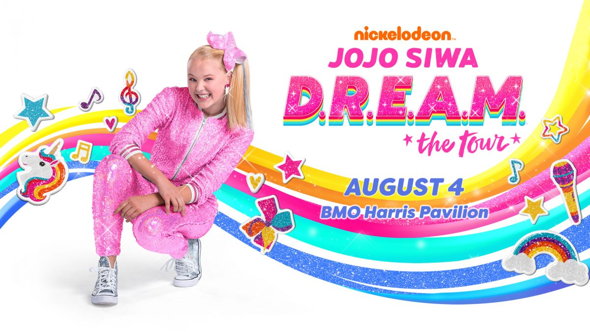 JoJo Siwa at the BMO Harris Pavilion