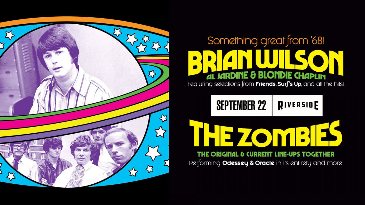 Brian Wilson + The Zombies at the Riverside Theate...