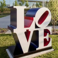 Grand Unveiling: American LOVE Sculpture